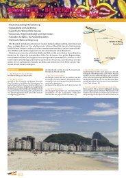 BRASILIEN – BILDERBUCH - bei TAKE OFF Erlebnisreisen