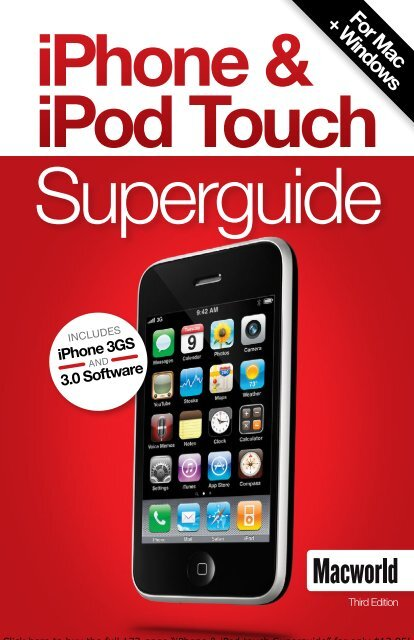 Macworld's iPhone and iPod Touch Superguide ... - Take Control