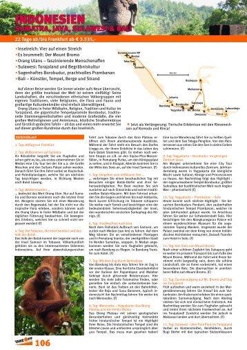 katalogprogramm 2014 - bei TAKE OFF Erlebnisreisen