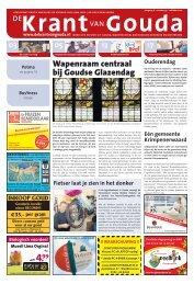 Wapenraam centraal bij Goudse Glazendag - de Krant van Gouda