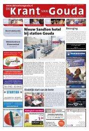Nieuw Sandton hotel bij station Gouda - de Krant van Gouda