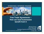Free Trade Agreements – How can local businesses benefit ... - ACRA