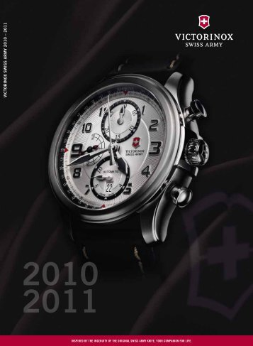 VICTORINO x SWISS ARMY 2010 – 2011 - Kunzi