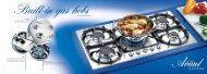 Built-in gas hobs - Kapos Design Bt.