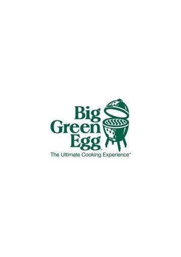 """Scarica le novità del marchio """"BIG GREEN EGG"""" - Kunzi"""