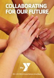 2013 Annual Report--FINAL.pdf - YMCA of Greater Rochester