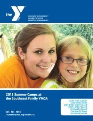 2013 SE Summer Camp pr4.pdf - YMCA of Greater Rochester