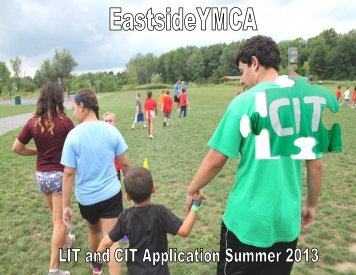 application form - YMCA of Greater Rochester