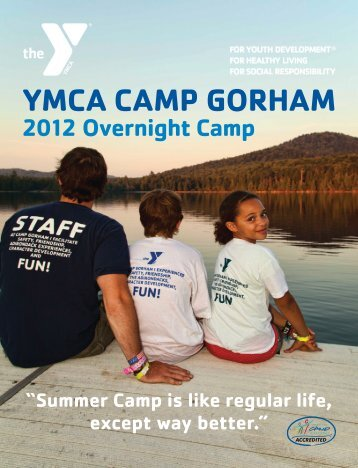 YMCA CAMP GORHAM - YMCA of Greater Rochester