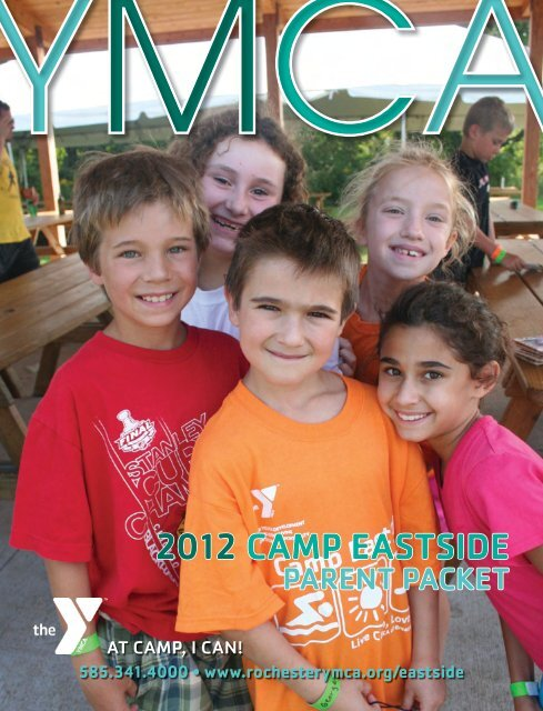 2012 CAMP EASTSIDE - YMCA of Greater Rochester