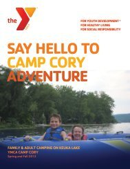 Camp Cory - YMCA of Greater Rochester