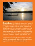 Camp Cory - YMCA of Greater Rochester - Page 3