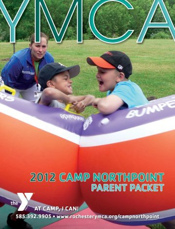 2012 CAMP NORTHPOINT - YMCA of Greater Rochester