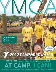 2012 CAMP ARROWHEAD - YMCA of Greater Rochester