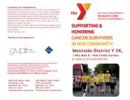 SUPPORTING & HONORING CANCER SURVIVORS IN OUR ...