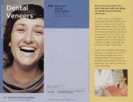 Dental Veneers Brochure - Max L Lingo DDS