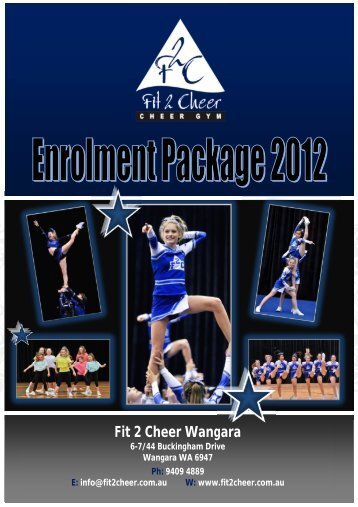 F2C Enrolment Package 2012_Wangara(1).pdf - Fit 2 Cheer
