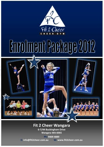 F2C Enrolment Package 2012_Wangara(3).pdf - Fit 2 Cheer