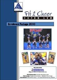F2C Enrolment Pack 2010.pdf - Fit 2 Cheer