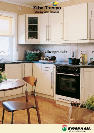 Et norsk kvalitetsprodukt Benkeplater laminat - Kvandal Kjøkken