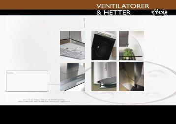 VENTILATORER & HETTER - Kvandal Kjøkken