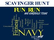 Scavenger Hunt Fun Run - From the Field Initiatives