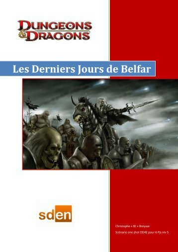 Les Derniers Jours de Belfar - Sden