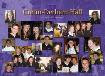 Annual Report 2008-2009 - Cretin-Derham Hall