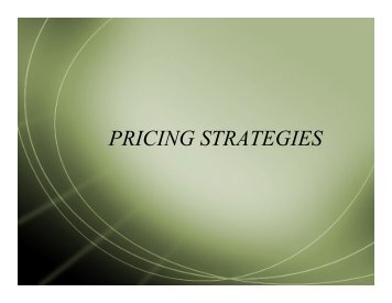 Intro Mktg - 6.4 Pricing Strategies.pdf - Cretin-Derham Hall