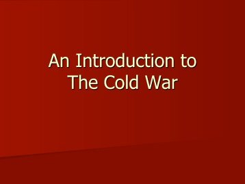 Cold War Traci.pdf - Cretin-Derham Hall