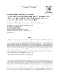 Geological setting and structural styles of Volcanic Massive ... - SciELO