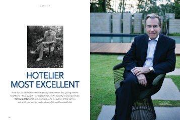 HOTELIER MOST EXCELLENT - Talent Plus
