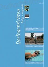 Dorfnachrichten 3/2010 - Aegerten