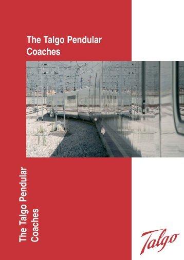 The TALGO Pendular Coaches
