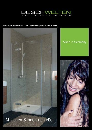 Duschwelten - Aus Freude am Duschen