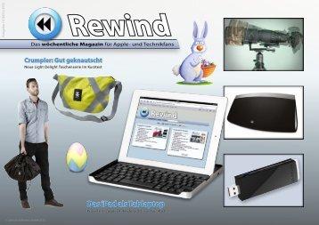 Das iPad als Tablaptop - Mac Rewind