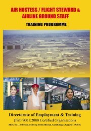 Additional Information for Applicants of Air Hostess ... - Talim Rojgar