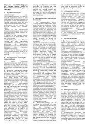Allgemeine Geschäftsbedingungen der TalkTalk Telecom GmbH für ...