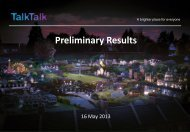 Full Year Preliminary Results presentation