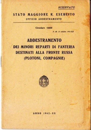 STATO MAGCIORE R. ESERCITO