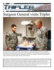 Surgeon General visits Tripler - Tripler Army Medical Center - U.S. ...