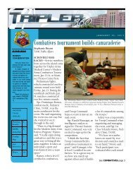 Combatives tournament builds camaraderie - Tripler Army Medical ...