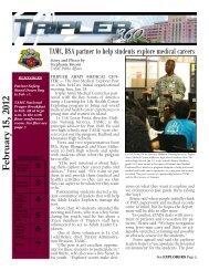 TAMC, BSA partner to help students explore medical - Tripler Army ...