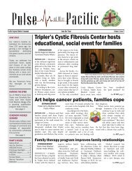 Tripler's Cystic Fibrosis Center hosts educational, social event for ...