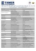 YURT İÇİ REFERANS LİSTESİ - Tamer.com.tr - Page 4