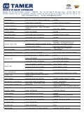 YURT İÇİ REFERANS LİSTESİ - Tamer.com.tr - Page 7