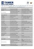 YURT İÇİ REFERANS LİSTESİ - Tamer.com.tr - Page 2
