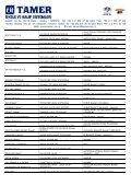 YURT İÇİ REFERANS LİSTESİ - Tamer.com.tr - Page 3