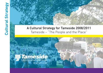 Cultural Strategy - Tameside Strategic Partnership