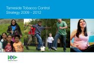 Tameside Tobacco Control Strategy 2009 - 2012